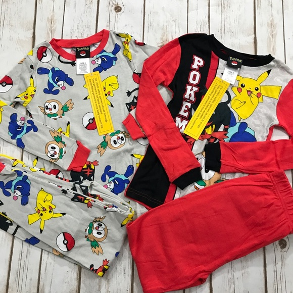 40a2122ba5 Pokémon Pajama Sets - 2 Pair Bundle